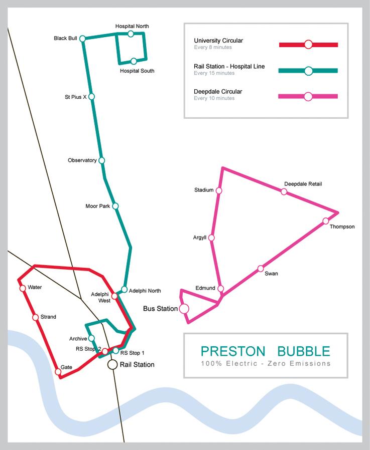 Preston Bubble Bus